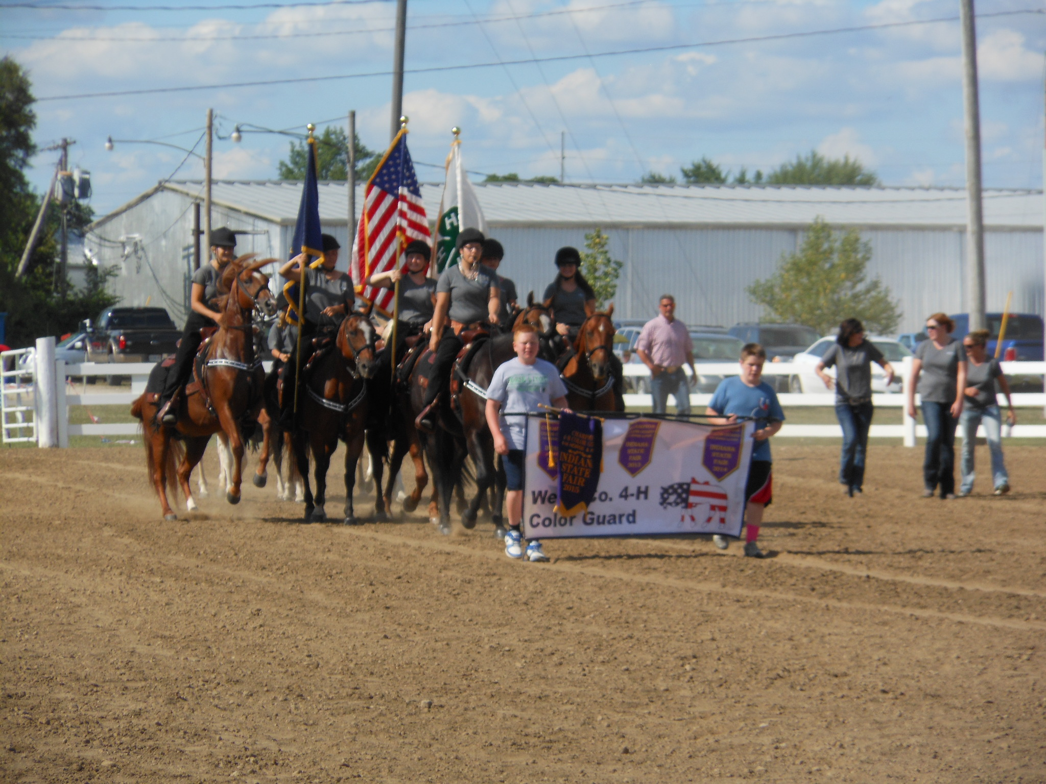 Mounted Color Guard